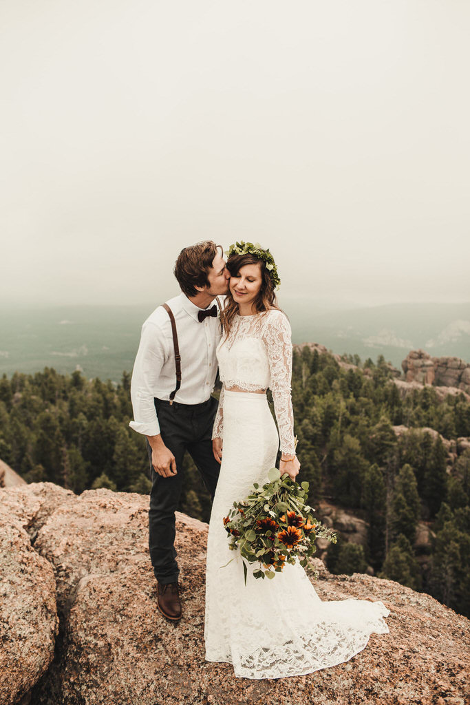 Devil's Head Colorado Elopement