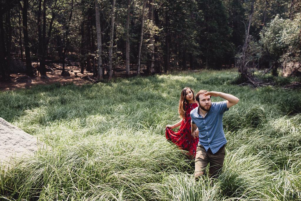 Amanda & Jon Yosemite Engagement