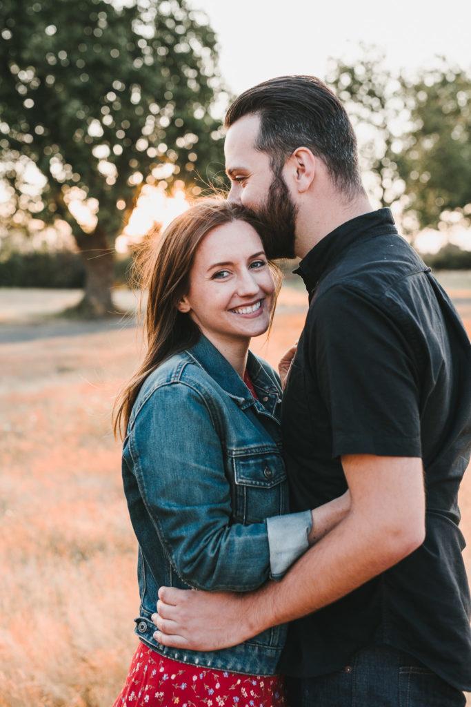 Katie & Doran Discovery Park Seattle Engagement